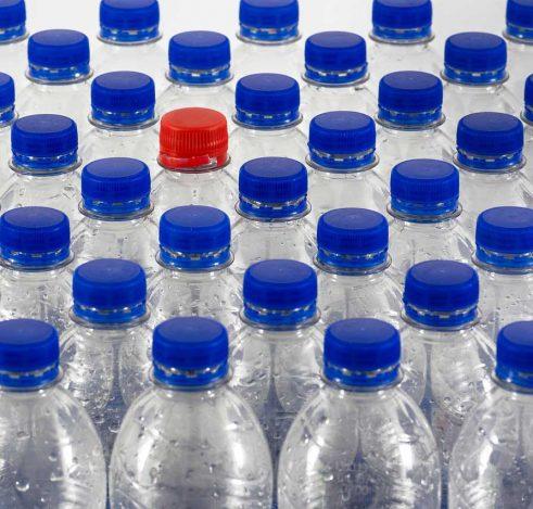 Issues du cycle de vie des bouteilles, le rPET – matériau PET recyclé ou plus communément appelé « polyester recyclé » – est de plus en plus prisé.